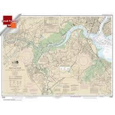 Home Page Navigational Charts Noaa Charts For U S Waters Atlantic Coast Charts Small Format Noaa Chart 12332 Raritan River Raritan Bay