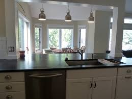 Open Kitchen Island Designs Incorporate A Support Post Into Kitchen Island Kitchen Remodel