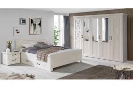 Kashmir Von Forte Landhaus Schlafzimmer Pinia Weiß Schlafzimmer Sets