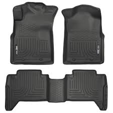 Husky Liners 98951 Tacoma Front And Rear Floor Liner WeatherBeater ...