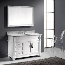Bathroom Vanity Set Virtu Usa Victoria 48 Single Bathroom Vanity Set In White