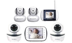 motorola video baby monitor. motorola 2-camera wireless video baby monitor: monitor b
