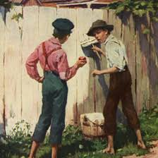 mark twain s year old secrets news online <br >famously tom tricks friends into painting his aunt s fence in <