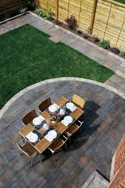 dual level stamped concrete patio Google Search Garden design