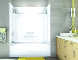 2 piece fiberglass bathtub shower
