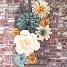 diy wedding wall decorations lovely paper flower wall decor for weddings by barbanndesigns