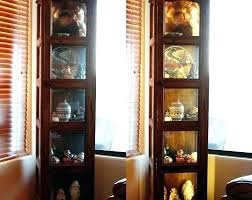 hanging curio cabinet corner wall display cabinet image of corner curio cabinets furniture corner wall display