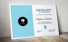 Corporate Certificate Template Geometric Pattern Modern Corporate Certificate Templates