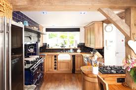 Terra Kitchen An Oak Country Kitchen Featuring Full Stave Worktops