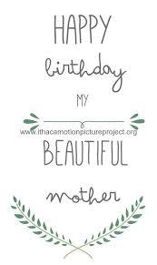 Birthday Printable Cards Printable Birthday Cards For Mom Free Printables