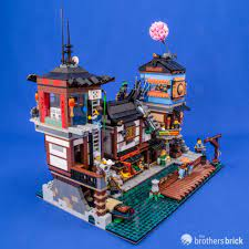 LEGO's Ninjago City is expanding with 70657 Ninjago City Docks [Review] |  The Brothers Brick