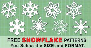 Have you ever felt the lack of snow during christmas or at any time? Snowflake Templates Printable Stencils And Patterns Patterns Monograms Stencils Diy Projects