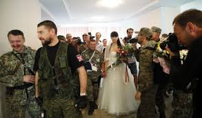 In Moscow Photo A 'separatist Times Donetsk Gallery Multimedia Wedding' The