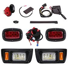 Lights Wont Work On Club Car Golf Cart 10l0l Golf Cart Led Headlight And Tail Light Kit For Club Car Ds Carts With Turn Signals Switch Horn Brake Lights Harness Must Input 12 Volts