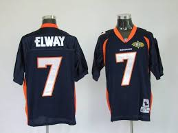 Nfl Throwback Jersey Stitched Broncos 7 amp; 2010 Patch Top Quality Bowl Ness In Blue Sale Super Discount Elway John With Mitchel Big