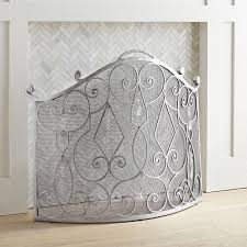 allure silver gems fireplace screen pier 1 imports with regard to plan 7