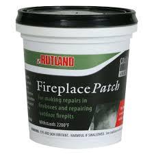 fireplace mortar buff quikrete patch