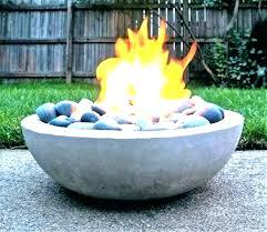 diy fire bowl concrete fire pit bowl concrete fire bowl fire pit cement cement fire pit
