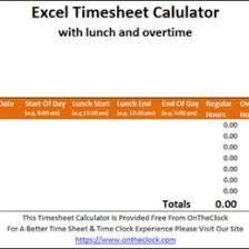 Free Time Card Calculator 114916537796 Time Card Excel