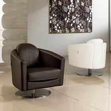 Swivel Chairs For Living Room Living Room Stunning Trinidad Stye Of Leather Swivel Chair Living