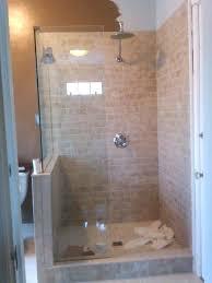bathroom bathtub glass doors modern half glass shower door bathroom ideas tile and paint