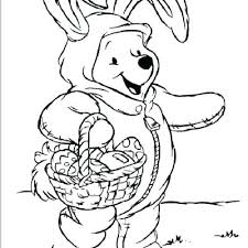 Free Easter Coloring Pages For Preschoolers Easy Coloring Page Easy