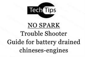 trouble shooter guide for no spark chinese engines image zoom