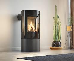 small gas stove fireplace. Unique Gas Rais Viva L 120 U0026 125 Gas Stove With Small Fireplace