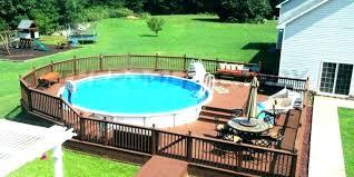 square above ground pool. Square Above Ground Pool Oval Deck Plans .