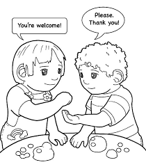 Small Picture Kindness is Helping Friend Colouring Page Colouring Tube