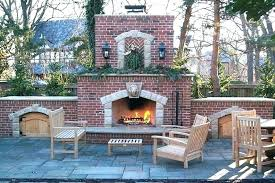 outdoor brick fireplace pictures outdoor masonry fireplace brick designs living design and bricks grill full size