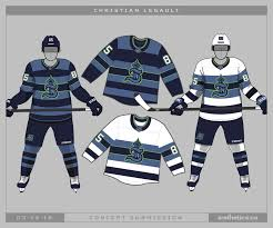 Seattle will finally get a winter pro sports replacement with the debut of the kraken in october. Seattle Kraken Concepts Icethetics Co