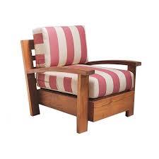 fb 1626 grid teak lounge chair r