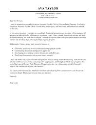 Cover Letter For Accounting Clerk Cover Letter Examples Entry Bunch