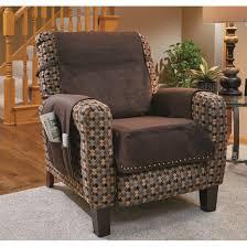 faux leather recliner cover espresso