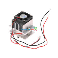 diy kit thermoelectric peltier cooler refrigeration cooling system heat sink conduction module fan tec1 12706