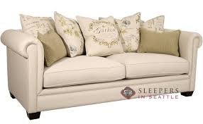 queen sofa bed. Fairmont Designs Chardonnay Sleeper In Garden Linen (Queen) Queen Sofa Bed E