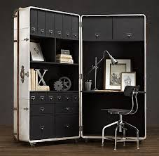 richards trunk secretary a moveable office form restoration hardware