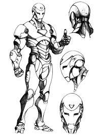 Disegni Da Colorare Disegni Da Colorare Iron Man Stampabile