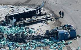 Truck collides with hockey team bus in Canada   Sports ...