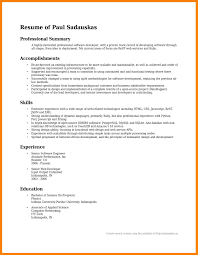 Summary Examples For Resume 100 summary examples resume apgar score chart 27
