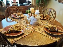 Table Setting For Breakfast A Stroll Thru Life Breakfast Table Staged