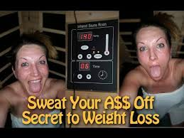 sweat your off to lose weight infrared sauna detox benefits
