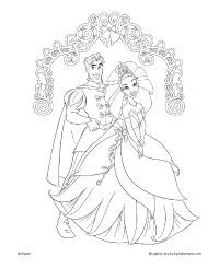 Small Picture Free Printable The Princess and the Frog Coloring Pages