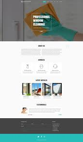 Carpet Cleaning Website Design Website Template 52092 Window Cleaning Company Custom