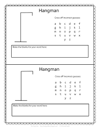 Hangman Template Printable The Puzzle Den Free Hangman Template