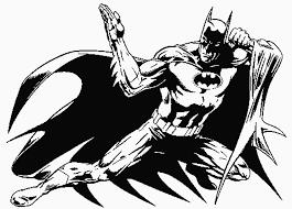 Batman Kleurplaat Superhelden Kleurplaat Animaatjesnl