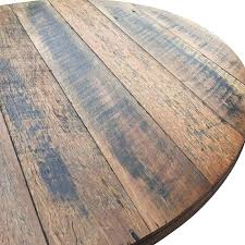 rustic wood table top rustic recycled round wood table top rustic wood high table
