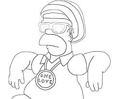 The Simpsons Coloring Pages The Coloring Pages Colouring Pages