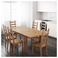 stornÄs extendable table antique stain dining